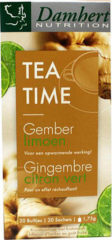 Damhert Tea time gember limoenthee 20+5 stuks