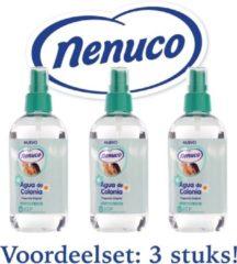 Nenuco Agua de Colonia verstuiver 240ml voordeelset: 3 flacons