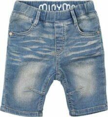 Minymo - meisjes driekwart knit denim jeans - blauw