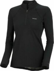Columbia Baselayer Midweight 1/2 Zip - dames - thermoshirt - zwart