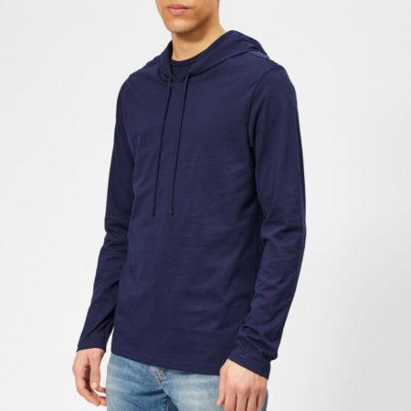 Afbeelding van Blauwe Polo Ralph Lauren Men's Cotton Jersey Hoodie - Cruise Navy - M - Blue