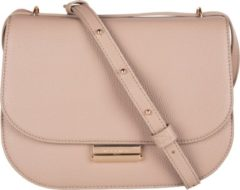 Zandkleurige Mister Miara vegan leather crossbody tas zand