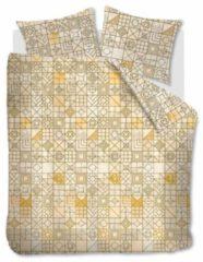 Gele BH Ambiante Stained Glass - Dekbedovertrek - Lits-jumeaux - 240x200/220 cm + 2 kussenslopen 60x70 cm - Yellow
