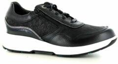Xsensible Stretchwalker Xsensible -Dames - zwart - sneaker-sportief - maat 39
