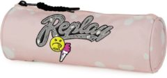 Etui Replay Girls pink - 8x23x8 cm Stationery Team Replay