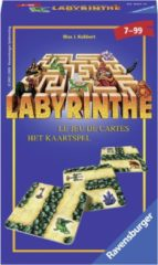 Groene Ravensburger Labyrinthe kaartspel - pocketspel