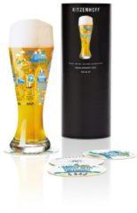 Weizen Weizenbierglas S. Morawetz F18 Ritzenhoff Transparent