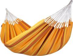 La Siesta - Currambera - Hangmat maat 160 cm x 350 cm, oranje/bruin
