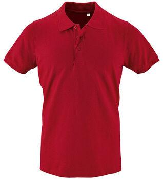 Afbeelding van Rode Polo Shirt Korte Mouw Sols PHOENIX MEN SPORT