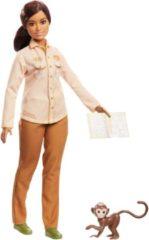 Mattel Barbie National Geographic Natuurbeschermer - Barbiepop