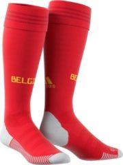 BelgiumWK 2018 België Home voetbalkousen - rood - maat 43-45