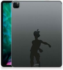 Transparante B2Ctelecom Tablet Cover iPad Pro 12.9 (2020) Hoesje Super als Cadeau voor Kleinzoon Floss Fortnite met doorzichte zijkanten