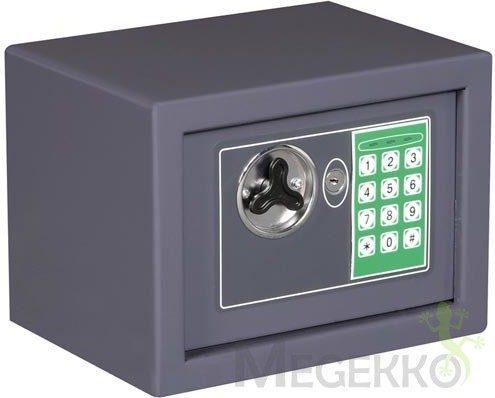 Afbeelding van Toolland BG90008 Elektronische kluis met code en sleutel