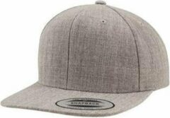 Grijze Yupoong The classic snapback Silver