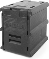 Roestvrijstalen Hendi Thermo Catering Box - 100 Liter - 63,5x46,5x(H)66cm