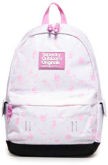 Witte Superdry Montana Print Edition Backpack Col Change White