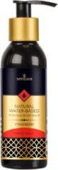Transparante Sensuva - Natural Waterbasis Glijmiddel Aardbei 125 ml