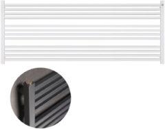 HD Heating Handdoekradiator IP Bern Wit in 5 Verschillende Maten 1000 - 1200 Watt Horizontaal (ook in elektrische uitvoering)