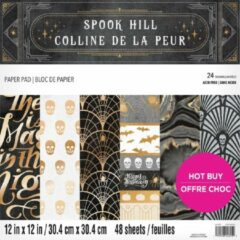 Craft Smith Spook Hill 12x12 Inch Paper Pad (MSE6144)