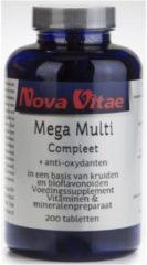 Nova Vitae Mega Multi Compleet - 200 Tabletten - Multivitamine