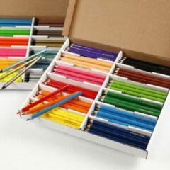Colortime kleurpotloden - Bulkvoordeel, vulling: 4+5 mm, 24 kleuren