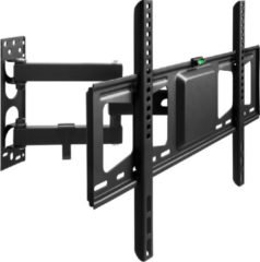 Zwarte TecTake - TV muurbeugel 32-60 inch VESA max 600*400 -draaibaar- 402611