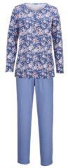 Schlafanzug Harmony jeansblau/weiß/puder