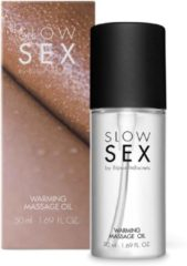 Bijoux Indiscrets Slow Sex Warming Massage Olie - 50 ml - Massageolie