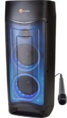 Zwarte N-Gear Nešiojama kolonėlė Bluetooth Let's go Party 52 500 W, Portable, Belaidė jungtis, Juodas, Bluetooth