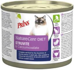 PRINS DIEETVOEDING Prins NatureCare Diet Cat Struvite & Calciumoxalaat natvoer 200 gram