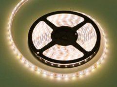 Groenovatie LED Strip, 5 Meter, 7.2 Watt/meter, 2835 LED's, Warm Wit, Waterdicht IP68