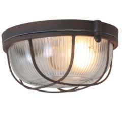 Bruine Home24 Plafondlamp Mexlite III, Steinhauer