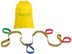Rode Grab & Go kinder wandelkoord / evacuatiekoord | 4-kids