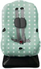 Briljant Baby - Autostoelhoes interlock - maat 1 jade - design Thijs