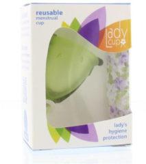 Ladycup Menstruatie Cup groen Maat S (1st)