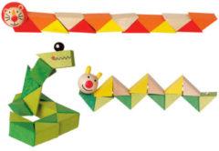 Slangenketting-houten dieren