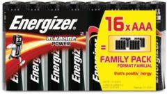 Energizer batterijen Alkaline Power AAA, blister van 16 stuks