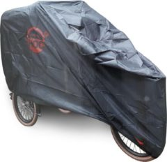 CUHOC COVER UP HOC Babboe Mini Mountain Bakfiets hoes zwart - stofvrij / ademend / waterafstotend - Red Label
