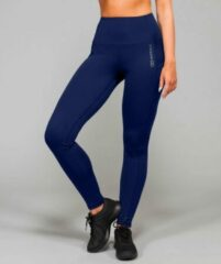 Marrald High Waist Pocket Sportlegging | Donker Blauw - XS dames yoga fitness
