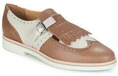 Bruine Mocassins D JANALEE BD825AB by Geox