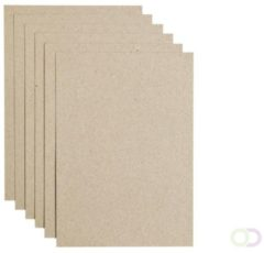 Papicolor Recycled Papier A4 220 gsm 6 Sheets Kraft Bruin