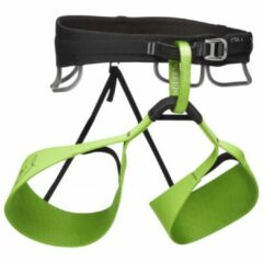 Black Diamond - Solution Harness-Honnold Edition - Klimgordel maat XS, groen/zwart