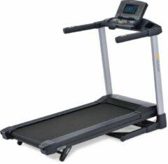 Antraciet-grijze LifeSpan Fitness TR1200iT loopband met interactieve LCD monitor met bluetooth - met tablet en bidon houder - inklapbaar
