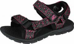 Hannah Sandalen Feet Unisex Eva/polyester Zwart/roze Maat 36