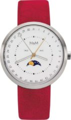 M&M Germany M11949-623 Moon Herenhorloge