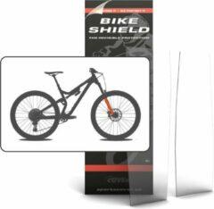 Transparante Bike Shield Bikeshield frambescherming Fork shield matte