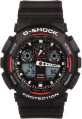 Zwarte Casio G-Shock GA-100-1A4ER - Horloge - Kunststof - Zwart - Ø 50 mm