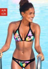 Rosa Bench. Triangel-Bikini mit Kontrastdetails