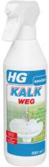 Witte HG kalkweg schuimspray met krachtige groene geur - 500 ml.