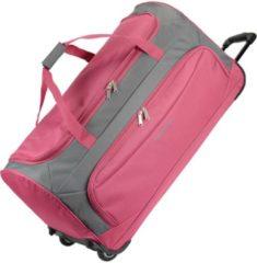 Rosa Garda Pop XL Reisetasche groß mit Rollen Damen und Herren mit Trolley-Funktion 72 cm Travelite pink